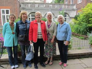 Members visiting Westminster Abbey Gardens