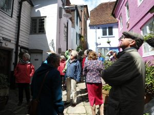 Guided tour of Hastings Old Town