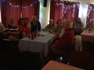 WI members enjoying an evening at the local jazz club