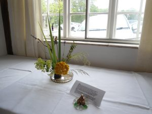 Our 1950s Japanese Ikebana exhibit at centenary event