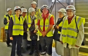 Members visiting the Recycling Centre in Hollingdean