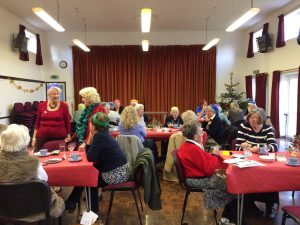 Members at our Christmas meal