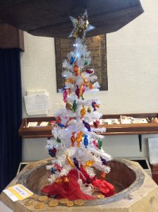 Our entry into the Westfield Church Christmas tree festival.