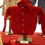 Child's Aran knitted jacket
